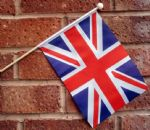 UNITED KINGDOM (UNION JACK) - HAND WAVING FLAG (MEDIUM)